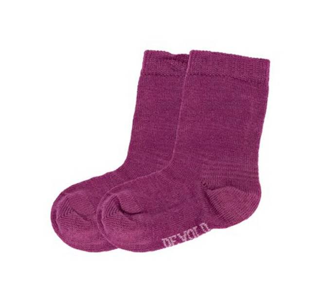 Bilde av Devold Baby Sock 2 Pk Peony