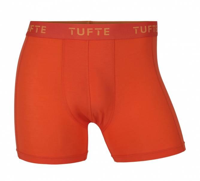 Bilde av Tufte Mens Essentials Boxer Briefs Blazing Orange