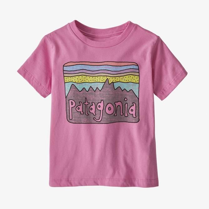 Bilde av Patagonia Baby Fitz Roy Skies Organic T-shirt