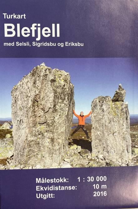 Bilde av Blefjell kart