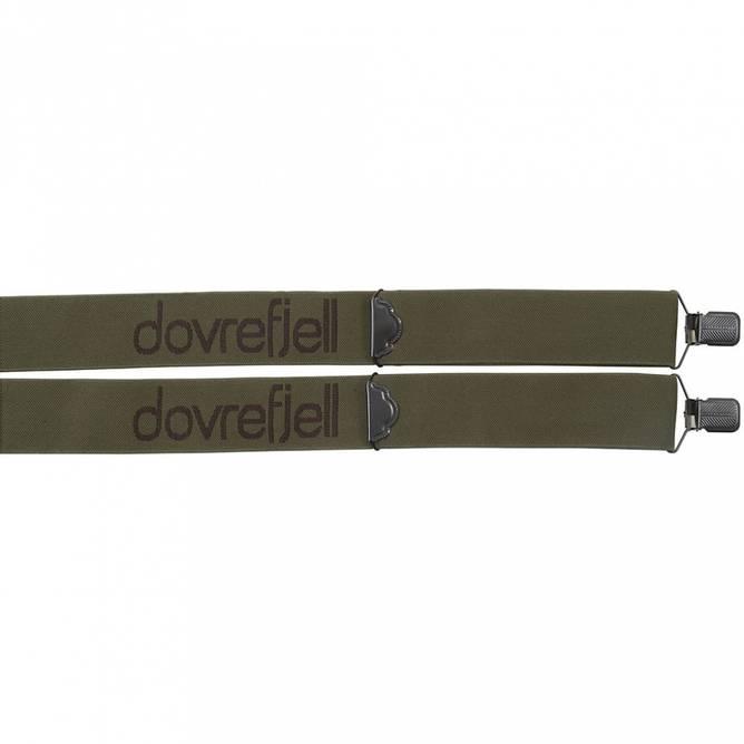 Bilde av Dovrefjell Classic bukseseler med klyper, grønn