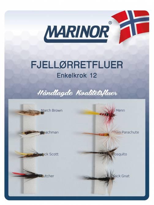 Bilde av Fluesett Marinor Fjellørret