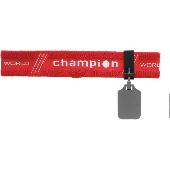 Bilde av Champion Pannebånd m/øyedeksel Rød
