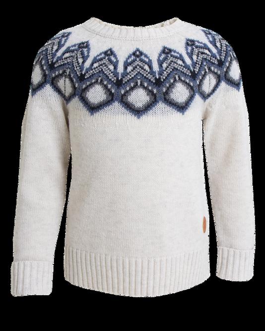 Bilde av Tufte Kids Lambswool Pattern Sweater