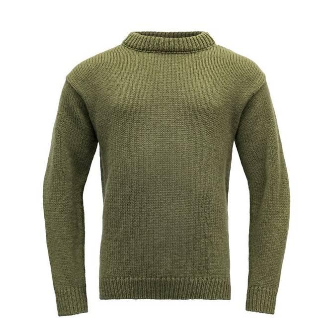 Bilde av Devold Nansen Sweater Crew Neck Olive