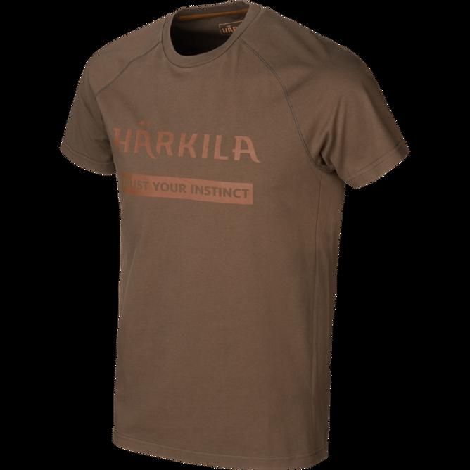 Bilde av Härkila Logo T-shirt Slate Brown
