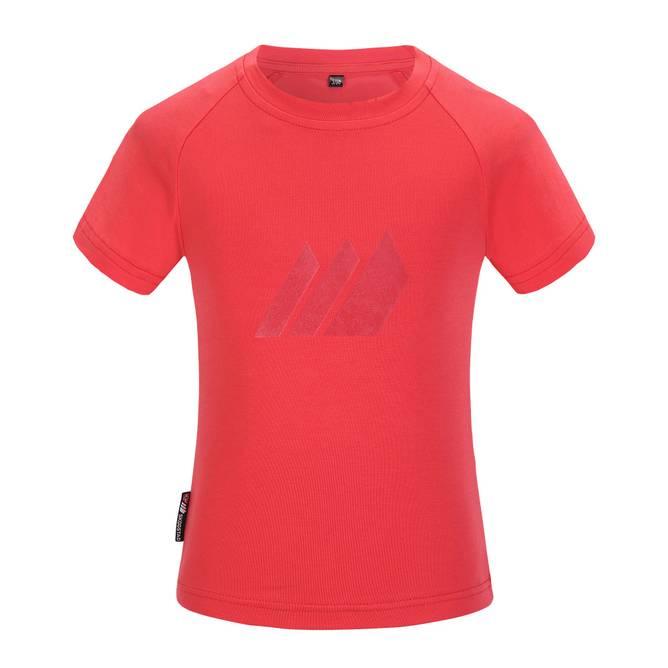 Bilde av Skogstad Heia T-skjorte Hibiscus Red 1-6 år