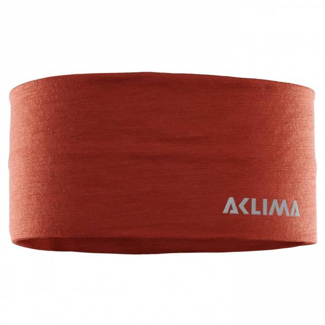 Bilde av Aclima LightWool Headband Red Ochre Medium