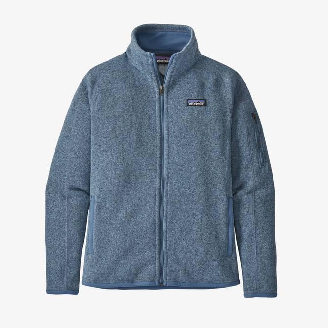 Bilde av Patagonia Better Sweater Jacket Dame Berlin Blue