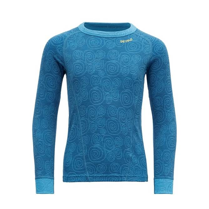 Bilde av Devold Duo Active Kid Shirt Blue