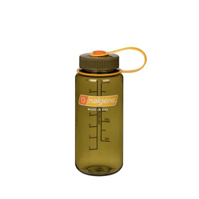 Bilde av Nalgene 0,5 L Widemouth Oliven
